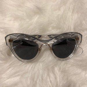 Miu Miu Clear Sunglasses
